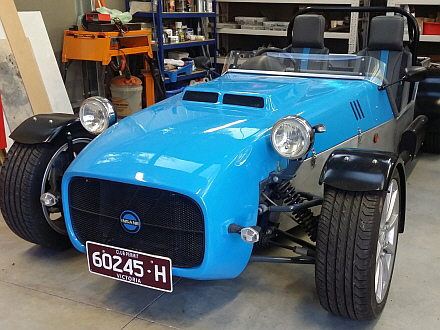 Locost clubman finally registered