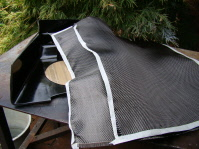 Fabricating a centre cosole - Carbon Fibre