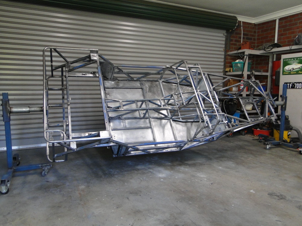 Chassis ready to be painted